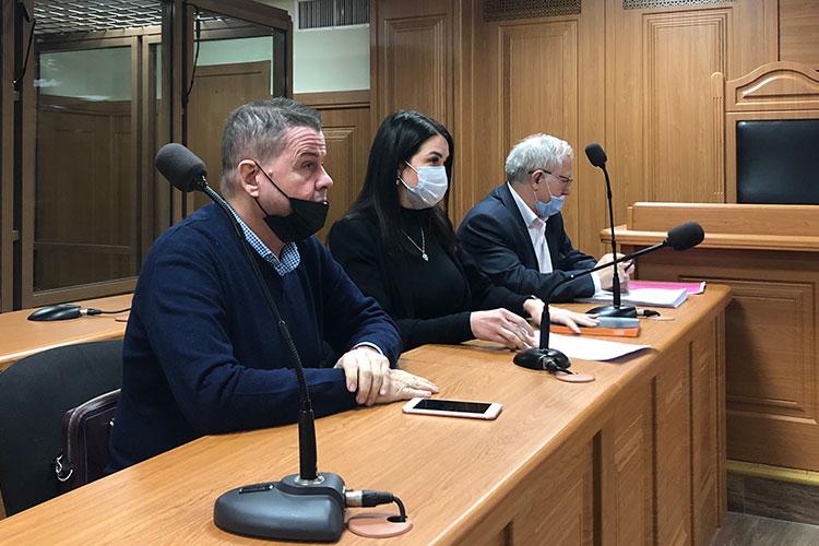 Ходатайство об отмене меры пресечения прозвучало сегодня из уст адвокатов Юлии Сорокиной и Владимира Гусева