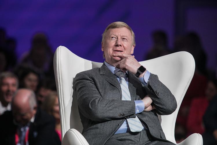 Вполиттусовке поползли слухи, что Чубайс будет договариваться наЗападе обезопасном будущем Путина