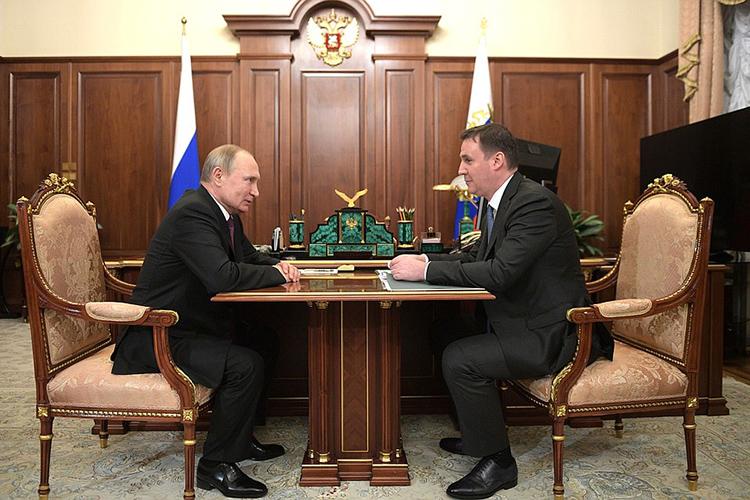 Патрушев получил публичную выволочку отпрезидента из-за роста цен напродукты
