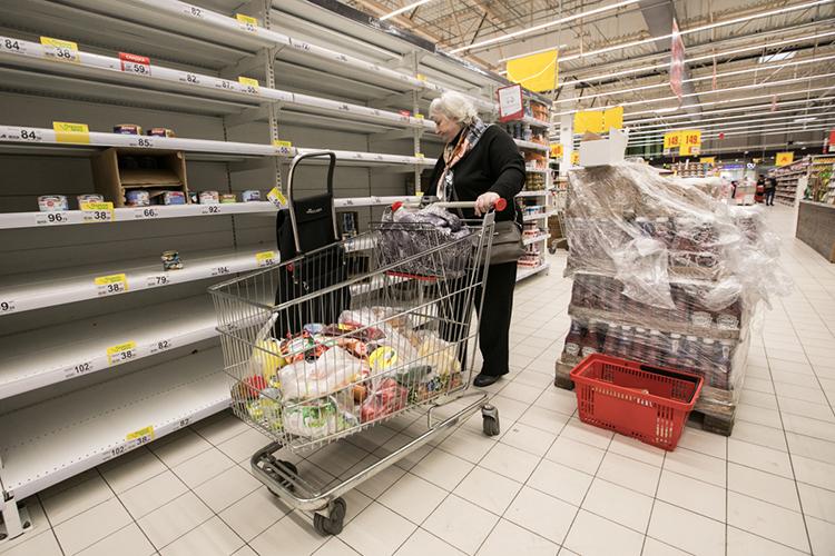 «Странно, что всех удивляет рост цен напродовольствие. Былобы удивительно, еслибы они неросли»
