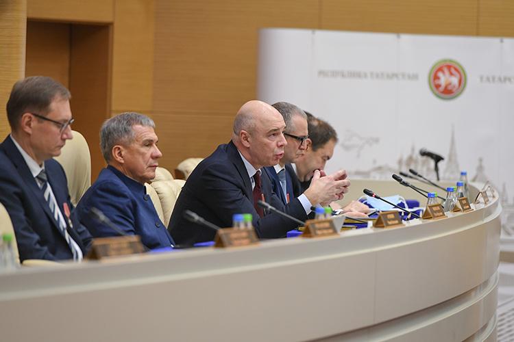 Итоги коллегии подвел Силуанов, фактически оно свелось кпризыву бросить все усилия навыполнение президентских задач