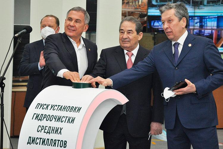 Минниханов также подчеркнул, что комплекс ТАНЕКО — это образец того, как надо формировать крупные производства