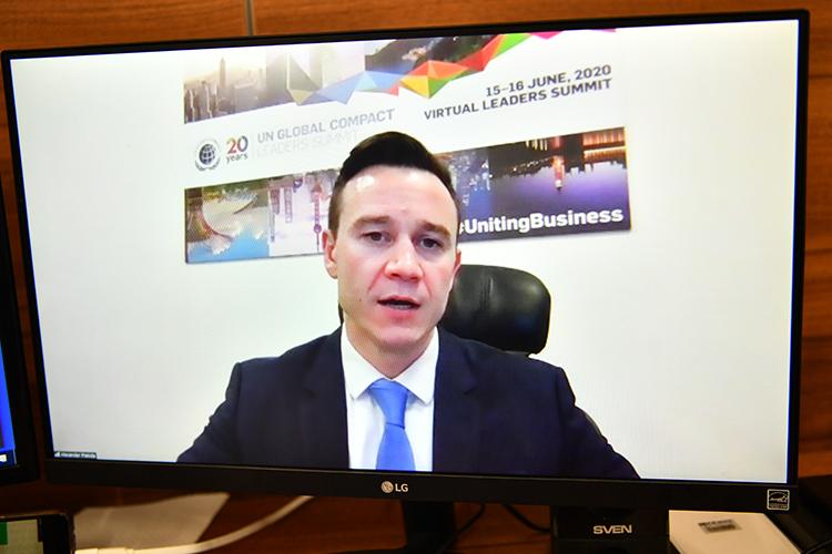 Александр Плакиданазвал «Татнефть» украшением команды «Национальной сети Глобального договора»