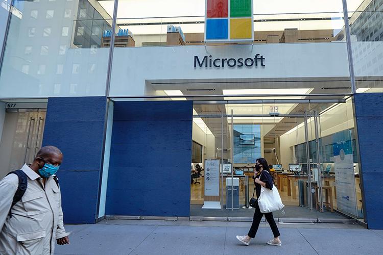 «Майкрософт» является важной составляющей Левиафана, входя впятерку ведущих технологических компаний западной части мира
