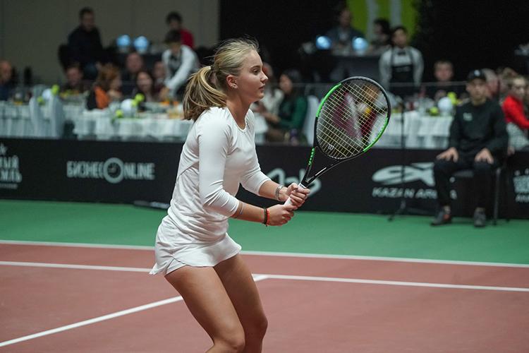 Внынешнем сезоне Кудерметова дошла дополуфинала юниорского «Ролан Гаррос» водиночном разряде