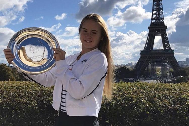 Мария вэтом году добилась своего лучшего достижения вовремя проведения юношеского «Ролан Гаррос»