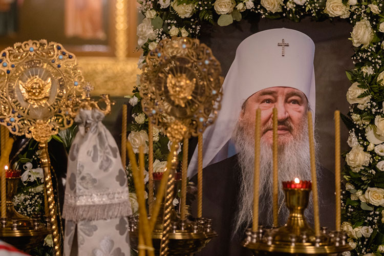 На 14 месте по индексу заметности новости про неожиданную смерть митрополита Казанского и Татарстанского Феофана (индекс — 154,23), которого не стало 20 ноября