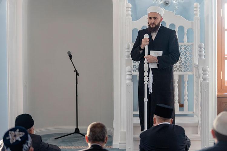 На 11 месте рейтинга заметных событий Татарстана оказался комментарий муфтия РТ Камиля Самигуллина по поводу поправки в Конституцию о «государствообразующем народе»