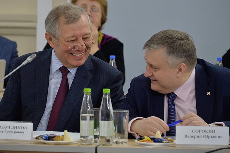 Валерий Сорокин, гендиректор АО«Связьинвестнефтехим», остается впервой тройке.Четвертую ступеньку рейтинга по-прежнему удерживаетАльберт Шигабутдинов