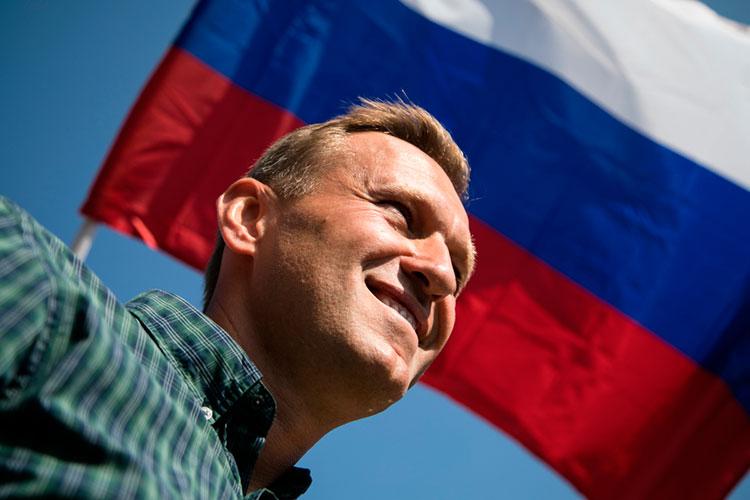 «Была очевидная большая реакция всвязи спопадаем водно предложение слова «Навальный» ислов «запрещенное оружие»