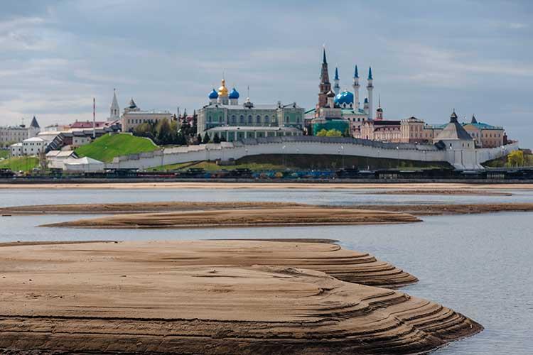«Целью создания искусственного земельного участка на водном объекте является увеличение площади территории под создание многофункционального комплекса с концертным залом с уникальным видом на Казанский Кремль»