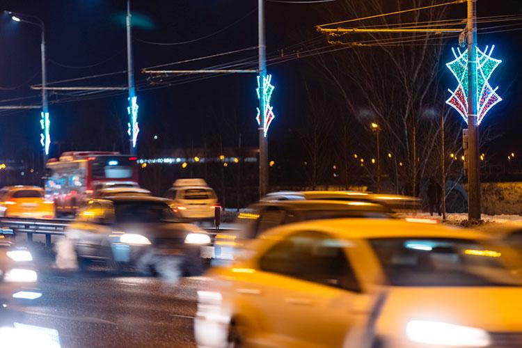 «Количество ДТП на перекрестках Казани за 13 дней января снизилось на 55%, с 20 до 9 происшествий, количество раненых — на 56%, с 23 до 10 человек»