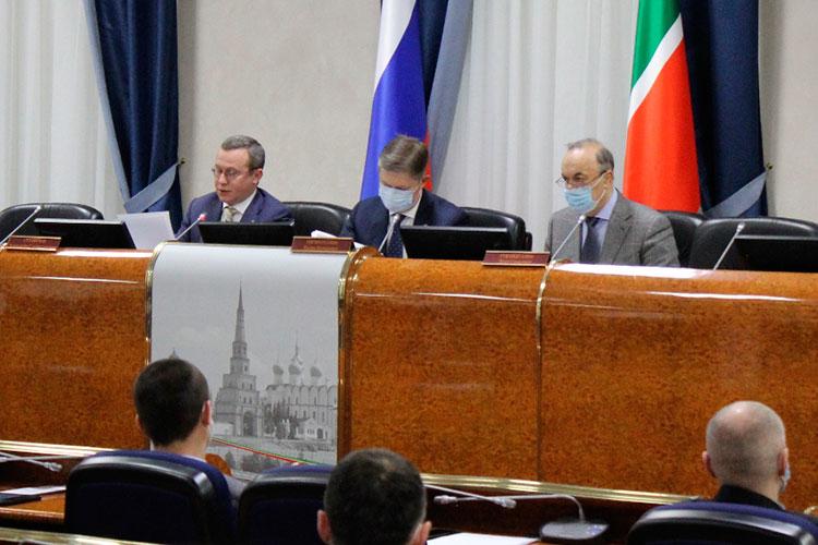 Коллегия госкомитета по тарифам РТ по итогам 2020 года накануне прошла в здании министерства культуры республики