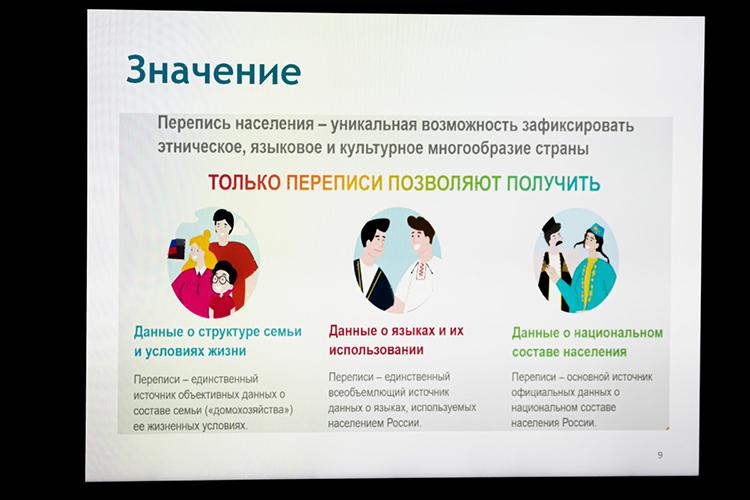 «Перепись— единственный или основной источник знаний ородных языках инациональном составе населения России, отрезультатов которой зависит бюджетное финансирование печатных изданий, школ, учреждений культуры»