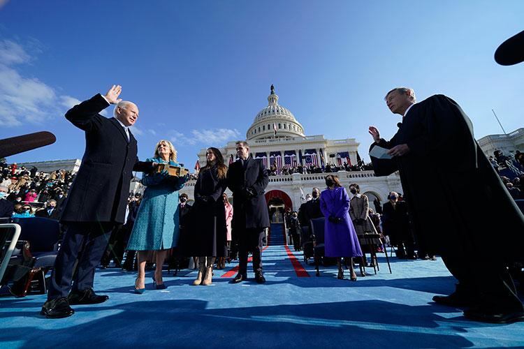 Джозеф Байден накануне вступил в должность президента США, официально став 46-м главой государства