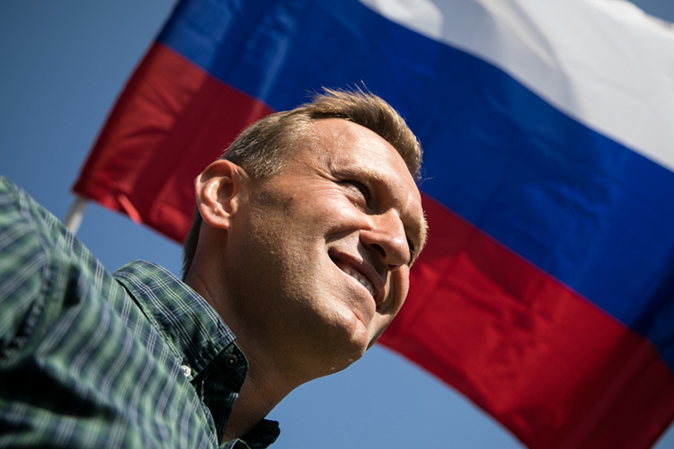 «Что касается Навального, тоон, да, герой, онбьется завласть, нопри этом, как яуже сказал, онявляется выразителем интересов определенного круга буржуазии»