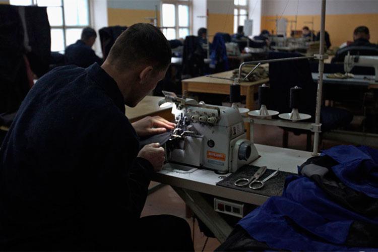 ЦТАО привлекает осужденных к работе на территории исправительной колонии