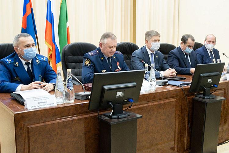 Заседание коллегии УФСИН в этом году состоялось в непривычном месте — учебном центре ведомства на улице Магистральной
