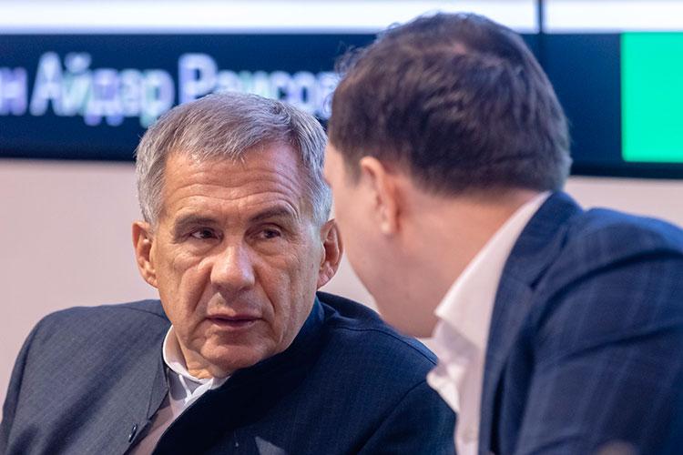 Рустам Минниханов: ««Суперсервисы так просто работать небудут. Если министерства небудут заинтересованы...»