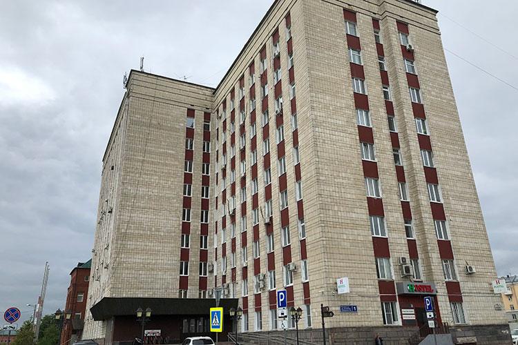 За 169 млн рублей ушел с банкротных торгов 9-этажный бизнес-центр «Ахтямова, 1», когда принадлежавший «Интехбанку»