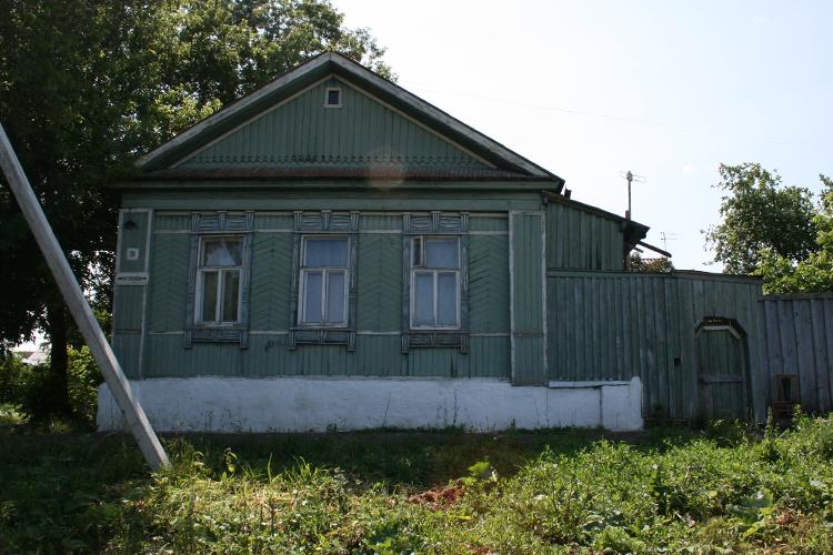 На фото дом,вкотором в1941–1943 годахжил иработалКонстантин Федин,советский писатель ижурналист,первый секретарь ипредседатель правления Союза писателей СССР