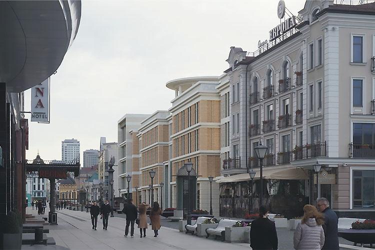 Будущий объект почти вплотную будет примыкать кгостинице «Европа». «Она очень маленькая— современные гостиницы немогут существовать таким образом. Либо они вконечном итоге превращаются вхостелы»