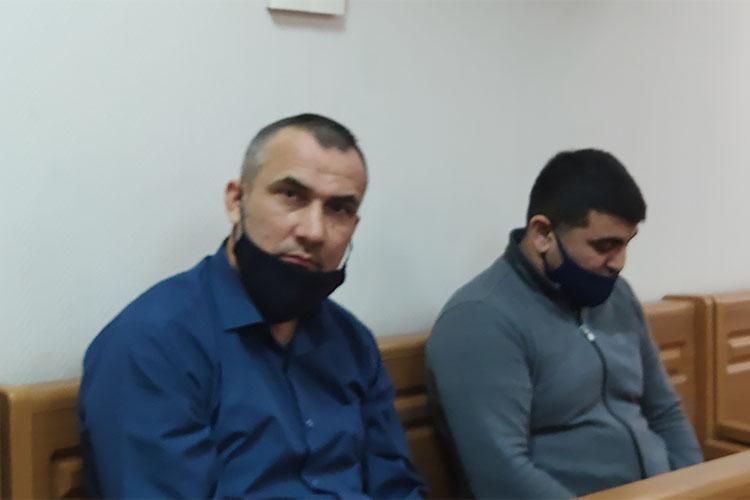 Кудивлению судьи, взащиту Наджафова выступили ипотерпевшие—СулейманГасановиЭльдарАлиев
