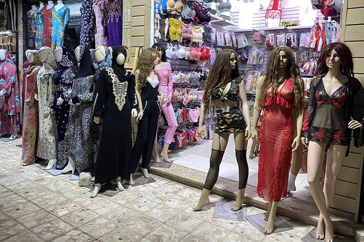 Магазины в Египте предлагают товары на любой вкус
