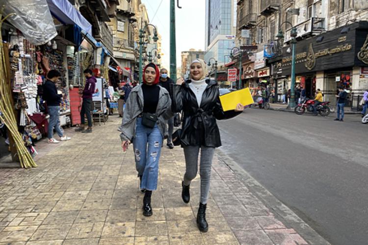 Молодые египтянки в Александрии