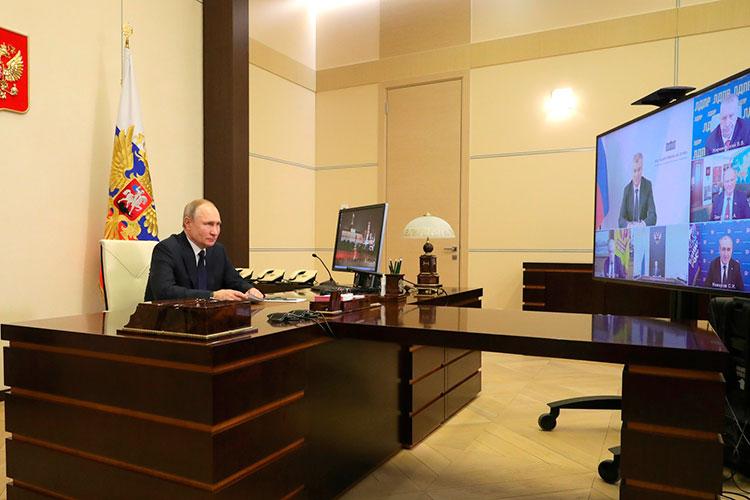 Для подведения итогов пятилетки действующего созыва Госдумы собрал сегодня президент России Владимир Путин всех руководителей парламентских фракций