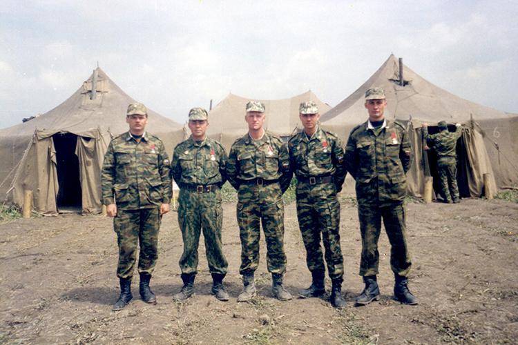 Гудермес, вывод войск, май 2000