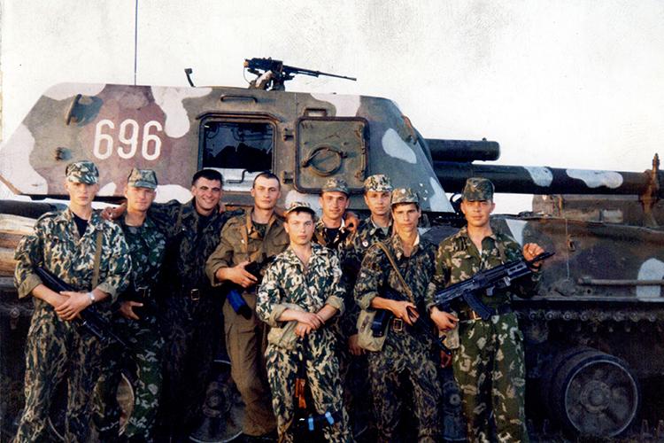 Молодые офицеры, Моздок, август 1999