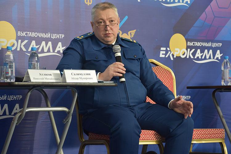 Зампрокурора Салимуллин дал понять, что прокуратура очень мягко относится к бизнесу