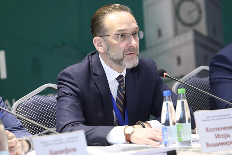 ИгорьКостюченко:«Коллеги, унас задача стоит необеспечить кассу, аобеспечить выполнение работ»