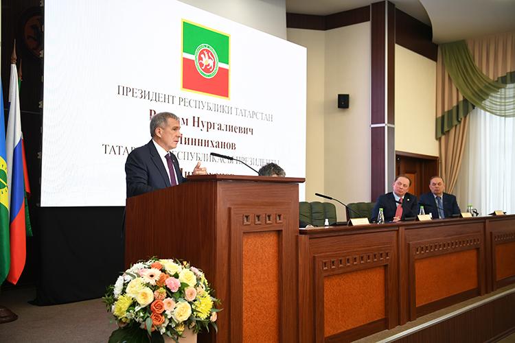 Рустам Минниханов: «Вцелом, мощнейший регион согромным потенциалом. Точка роста будет здесь»