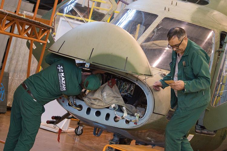 «УКазанского вертолетного завода тоже есть свои проблемы, связанные стем, что надо обновлять производственную линейку»