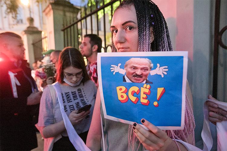 Минск утверждает, что все под контролем, ноэто нетак, протесты продолжаются. При этом репрессии увеличивают риски при активизации Запада, плюс наэтом фоне усиливается экономический кризис
