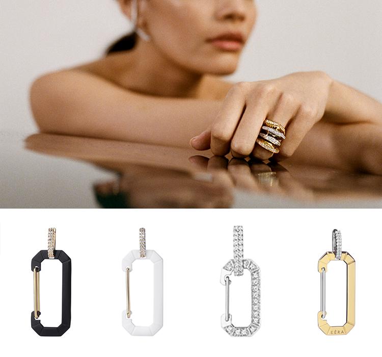 «Кто вам еще предложит одну моно-серьгу избелого золота сбриллиантами, которую также можно носить как кольцо?»