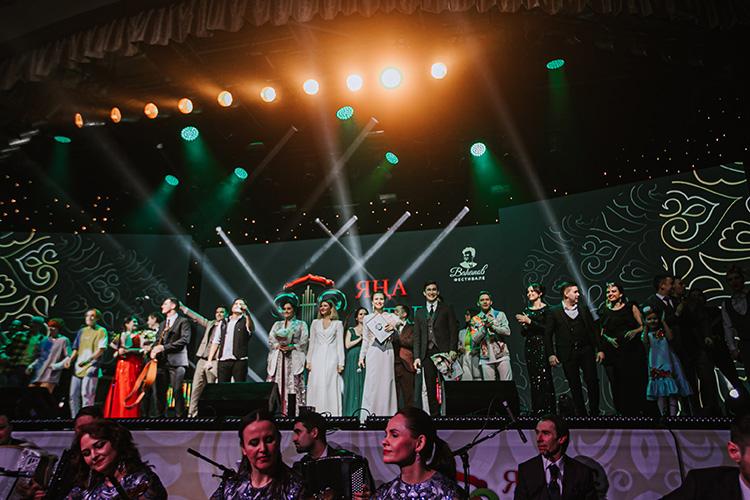 Гала-концерт конкурса «Яңа татар җыры» («Новая татарская песня») приняла вминувшие выходные «Пирамида»