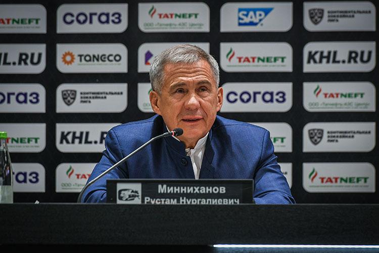 Рустама Минниханов: «Мы гордимся нашей командой. Вы представляете нашу республику. Я всегда говорю: вы — наша команда, наши победители. Если что-то пойдет не так, вы тоже наши»