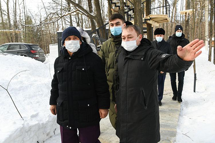Рустам Минниханов: «Просто отъехать отдома– уже отдохнул на50 процентов»