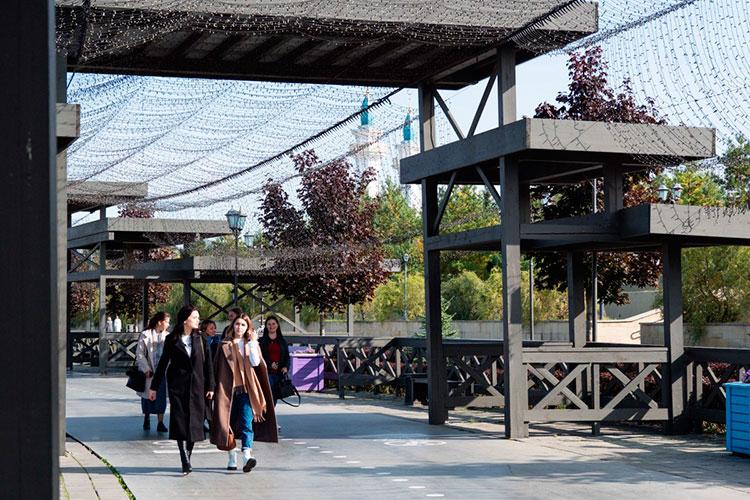 По словам Галины Шарафутдиновой, очень большое количество туристов, гуляющих по набережной, высказывали пожелание, чтобы именно здесь появился или «Макдональдс», или «Бургер Кинг»