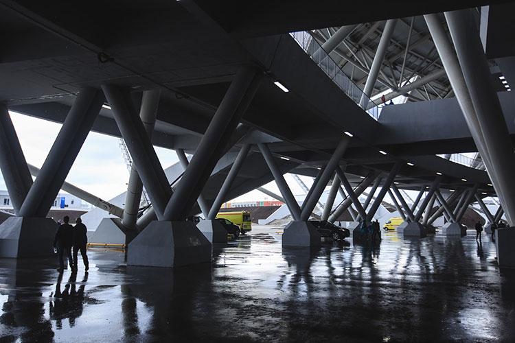 В ПСО «Казань» в ответе на запрос «БИЗНЕС Online» косвенно подтвердили наличие трещин на стадионе, но ничего критичного и опасного в этом не видят