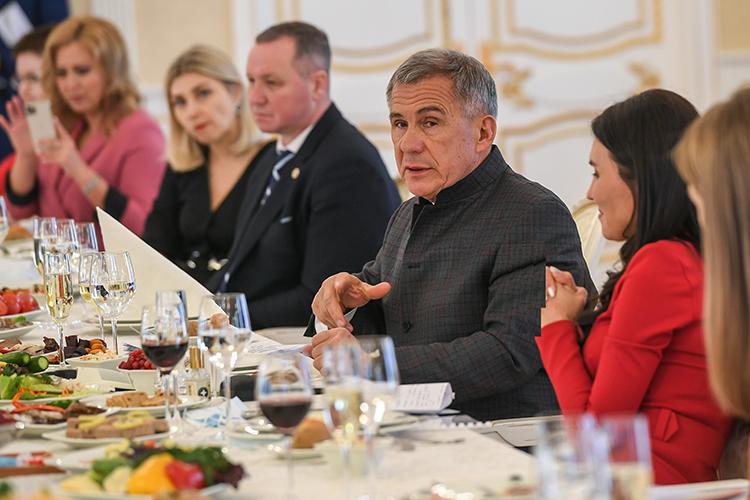 Рустам Минниханов: «Хочет записаться башкиром – будет башкиром. Но мы свою часть работы должны провести…»