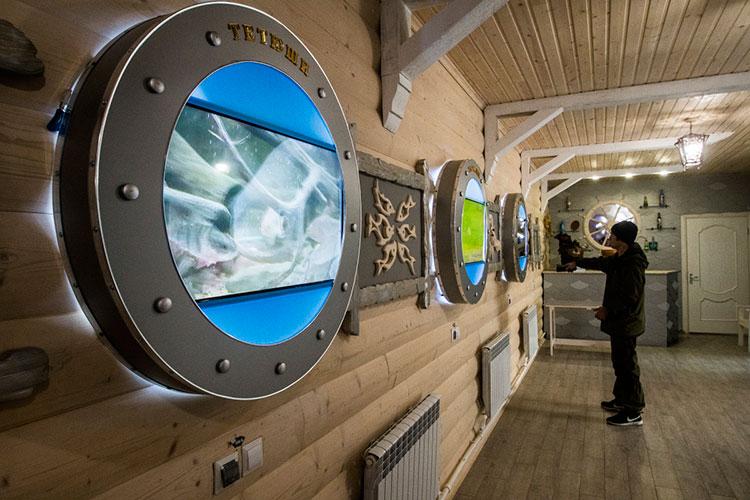 «Наш музей [истории рыболовства] оригинальный, необычный, с очень интересной, креативной подачей материала»