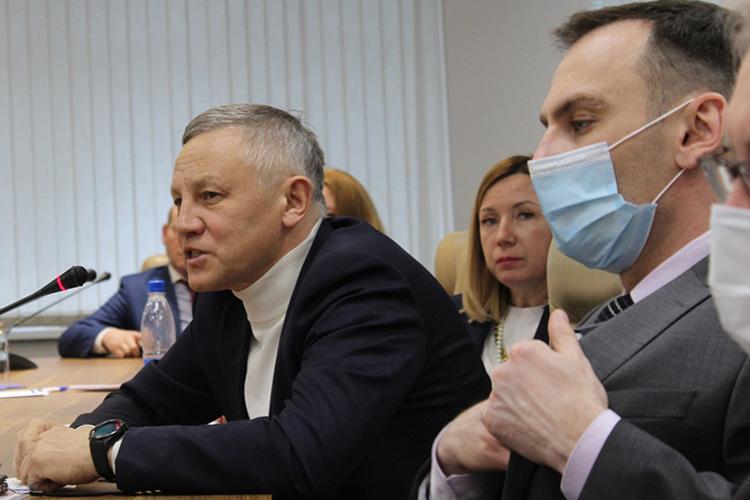 Ильдус Янышев,губернатор Российского округа 2223 Rotary International, призвал больше пропагандировать зеленое предпринимательство