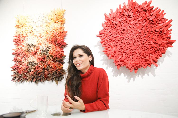 Полина Аскери:«Янепросто беру ипродаю искусство. Мне это неинтересно. ASKERI GALLERY работает как продюсерский центр, который занимается развитием художника иего карьерного пути. Поэтому мне так важен фидбэк отзрителей иколлекционеров»