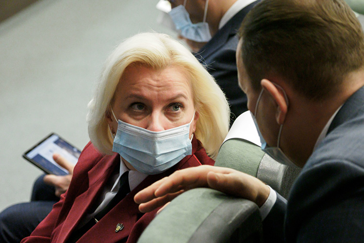 Марина Патяшина:«Зафевраль зарегистрирован 1931 новый случай COVID-19, это на30 процентов меньше, чем вянваре. Впервую неделю марта мырегистрируем чуть больше 50 случаев вдень»