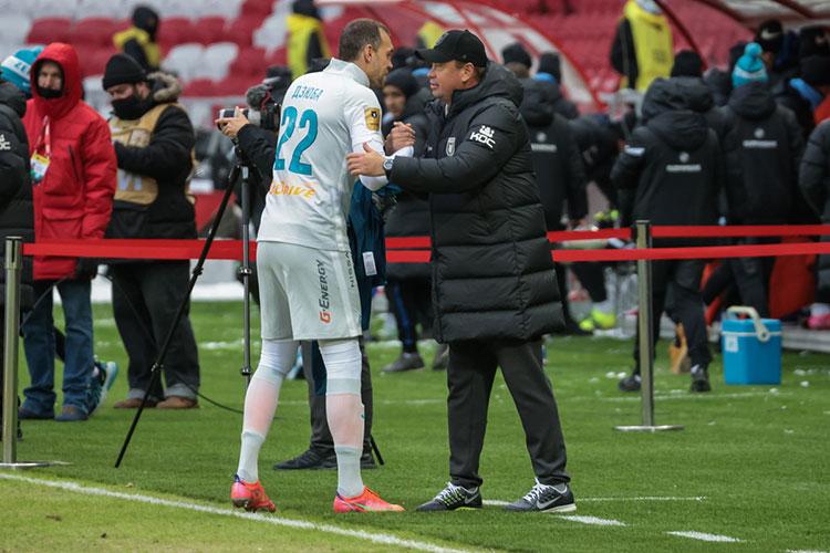 «Рубин» в первом домашнем матче 2021 года обыграл лидера чемпионата России — «Зенит»