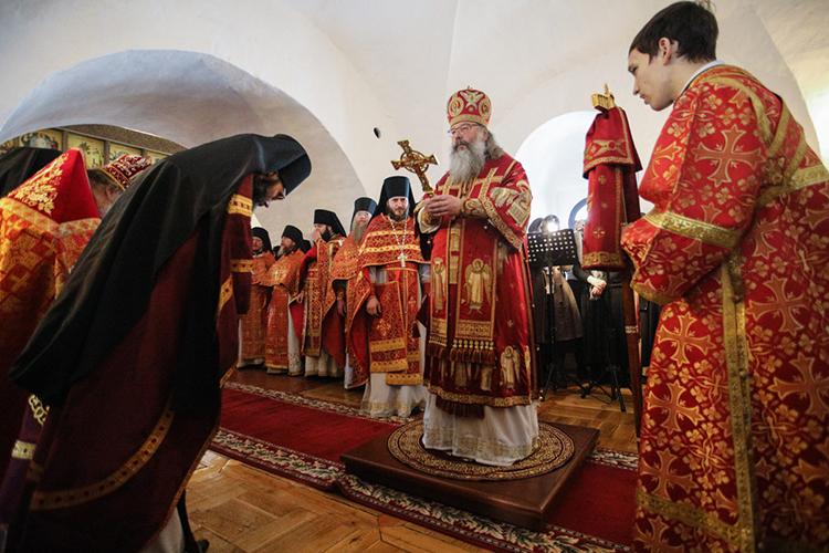 Пословам митрополита, сегодня есть возможность посадить вИоанно-Предтеченском монастыре «духовный виноград», под которым, судя повсему, имелось ввиду подворье Зилантового Успенского женского монастыря